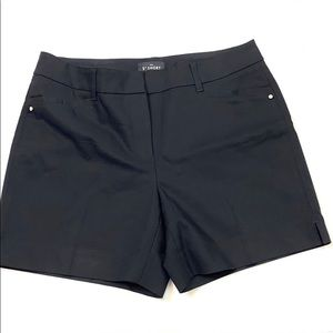 "White House Black Market Black The 5"" Short Size 2"